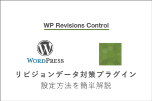 トップ最新|WP Revisions Controlとは?画像つきで設定・導入方法の手順を初心者でもわかりやすく解説